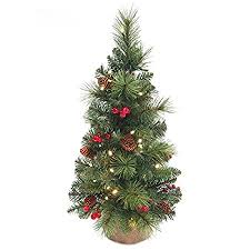 Everyday Collection Artificial Pre Lit Mini Christmas Tree