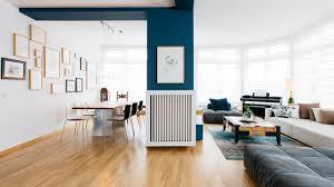 ein cooler mix aus modern und vintage für ein berliner penthouse