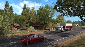 100 American Trucking Truck Simulator Oregon Expansion Released Rock Paper Shotgun