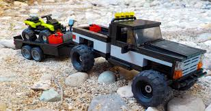 100 Atv Truck LEGO IDEAS Product Ideas Raised 1995 With ATV Trailer
