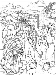 Printable Bible Coloring Pages Joseph