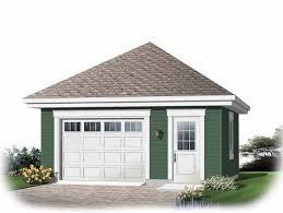 Single Car Garage Plans Oversized e Car Garage