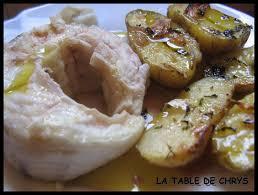 cuisiner du congre congre accompagné de pommes de terre la table de chrys