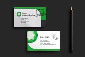 Web Design Business Card Template for shop & Illustrator