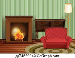 vector living room eps clipart gg62722062 gograph
