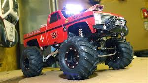 100 Mega Mud Truck RC ADVENTURES CHEVY 110th Scale Electric Dual