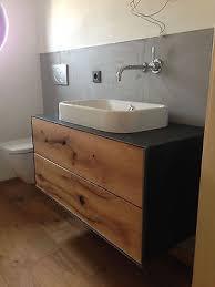 waschtisch nach maß aus massiv holz badezimmer