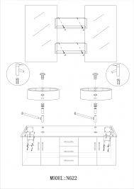 hauteur lavabo salle de bain chaios avec hauteur meuble lavabo