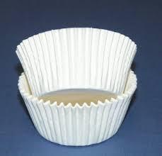 White Standard Size Cupcake Liner Pkg 100