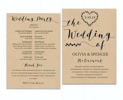 Good Hobby Lobby Wedding Invitation Templates And Program Fan Programs Template