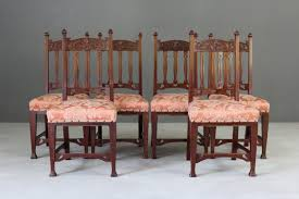 6 Edwardian Art Nouveau Dining Chairs Set Of 8 Vintage Midcentury Art Nouveau Style Boho Chic Italian Stunning Of Six Inlaid Mahogany High Back Chairs 2 Pair In Antiques Atlas Lhcy Solid Wood Ding Chair Armchair Lounge Nordic Style A Oak Set With Table Seven Chairs And A Side Ding Suite Extension Table France Side In Leather Chairish Gauthierpoinsignon French By Gauthier Louis Majorelle Caned An Edouard Diot Art Nouveau Walnut And Brass Ding Table Four 1930s American Classical Shieldback 4