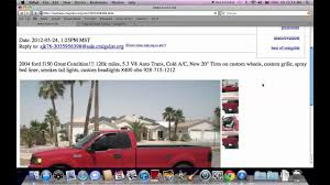 100 Craigslist Trucks Az Lake Havasu City Mohave AZ Used Cars And Under