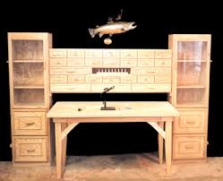 Fly Tying Table Woodworking Plans by This Would Make A Wonderful Craft Sewing Area Too Craft Ideas