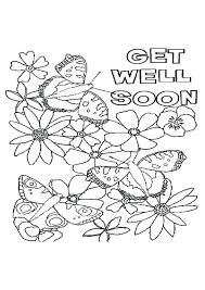 Get Well Printable Coloring Pages Of Wild Animals Soon Part 4
