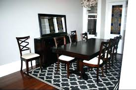 Round Rugs For Dining Room Best Carpet
