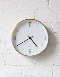 A Stylish Danish Wall Clock For Sophisticated Interiors Nordic Scandinavian Style So Simple