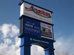 American Furniture Warehouse Thornton 4 Davinci Sign Systems