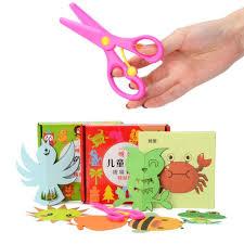 96Sheets Set DIY Child Handmade Toys Paper Cutting Confetti Kindergarten Teaching Supplies With Scissors Fun