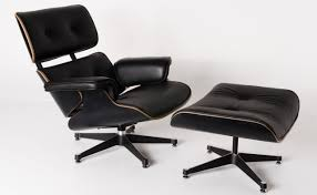 Replica Eames Lounge Chair+ottoman -Black Italian Leather With Black Timber  (PU Piping And Buttons) Eames Lounge Chair Ottoman Replica Aptdeco Black Leather 4 Star And 300 Herman Miller Is It Any Good Fniture Modern And Comfort Style Pu Walnut Wood 670 Vitra Replica Diiiz Details About Palisander Reproduction Set