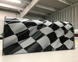 Checkered Flag Curtains Uk by Nascar Checkered Flag Valance For Kids Room Made To Order