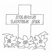 Beautiful Free Printable Lords Prayer Coloring Pages