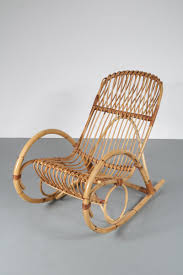 Rattan Rocking Chair, 1950s For Sale At Pamono Italian 1940s Wicker Lounge Chair Att To Casa E Giardino Kay High Rocking By Gloster Fniture Stylepark Natural Rattan Rocking Chair Vintage Style Amazoncouk Kitchen Best Way For Your Relaxing Using Wicker Sf180515i1roh Noordwolde Bent Rattan Design Sold Mid Century Modern Franco Albini Klara With Cane Back Hivemoderncom Yamakawa Bamboo 1960s 86256 In Bamboo And Design Market Laze Outdoor Roda