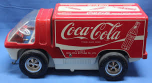 Coca-Cola Big Wheel Vintage Toy Truck Battery Operated -- Antique ... 164 Diecast Toy Cars Tomica Isuzu Elf Cacola Truck Diecast Hunter Regular Cocacola Trucks Richard Opfer Auctioneering Inc Schmidt Collection Of Cacola Coca Cola Delivery Trucks Collection Xdersbrian Vintage Lego Ideas Product Shop A Metalcraft Toy Delivery Truck With Every Bottle Lledo Coke Soda Pop Beverage Packard Van Original Budgie Toys Crate Of Coca Cola Wanted 1947 Store 1998 Holiday Caravan Semi Mint In Box Limited