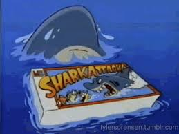 Shark Attack 90S GIF