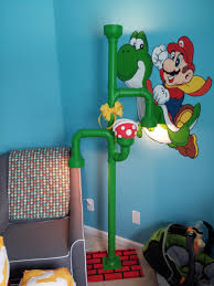 Mario Question Mark Block Hanging Lamp by Mario Pipe Floor Lamp Geek Chic Furniture And Such Pinterest