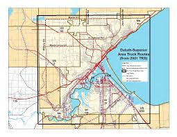 Duluth-Superior Truck Route Study Scope Of Work