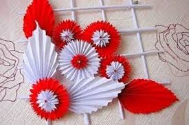 Paper Craft Work For Home Decoration Hydratone Diy Ideas Handycraft In Christmas Crafts