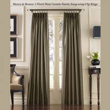 Curtains For Traverse Rods by Coffee Tables Rings For Pinch Pleat Curtains How To Make Pleated