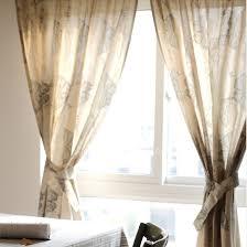 primitive schmetterling baumwolle beige polyester gardinen