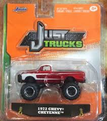 Buy Jada Just Trucks 1972 Chevy Cheyenne 4x4 Red & White 2015 Wave 6 ...