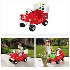 100 Fire Truck Ride On Little Tikes Spray Rescue Foot To Floor New