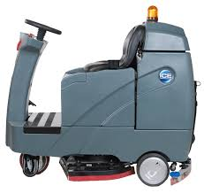 Riding Floor Scrubber Training by Rs26 Rider Auto Scrubber