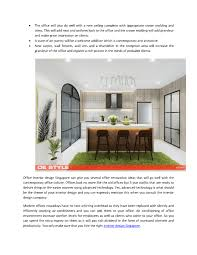 Advance Designing Ideas For Kitchen Interiors Get A Facelift With Office Interior Design Singapore