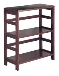 amazon com winsome wood shelf espresso kitchen u0026 dining