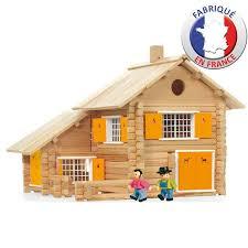 la maison du jouet jeujura la maison en bois 240 pièces achat vente assemblage
