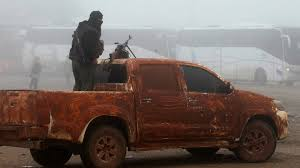 Evacuation Of Syrian Rebels And Shia Villagers Begins In Swap Deal