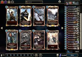 Best Mtg Deck Simulator by The Elder Scrolls Legends Heroes Of Skyrim Android Apps On