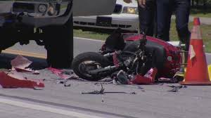 Woman Dies In Motor Scooter Crash With Deputys Pickup Truck