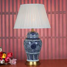 Ceramic Table Lamps For Bedroom by Art Chinese Porcelain Ceramic Table Lamp Bedroom Living Room