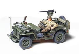 100 Ton Truck Jeep Willys Mb 14 None Tamiya USA
