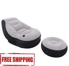 Intex Inflatable Sofa Corner by Intex Inflatable Ultra Lounge Ottoman Sofa Chair Portable