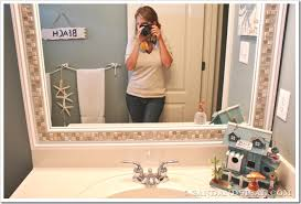 Mosaic Bathroom Mirror Diy by How To Decorate A Mirror With Tile Adhesive Tile Framed Mirrors