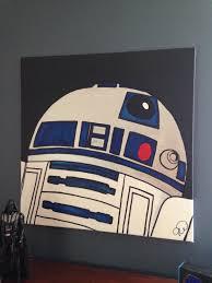 Star Wars Room Decor Uk by Best 10 Star Wars Painting Ideas On Pinterest Star Wars