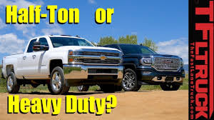 Half-Ton Or Heavy Duty Gas Pickup? Which Truck Is Right For You ... 2016 Ford F150 Vs Ram 1500 Ecodiesel Chevy Silverado Autoguidecom 2012 Halfton Truck Shootout Nissan Titan 4x4 Pro4x Comparison 2015 Chevrolet 2500hd Questions Is A 2500 3 Pickup Truck Shdown We Compare The V6 12tons 12ton 5 Trucks Days 1 Winner Medium Duty What Does Threequarterton Oneton Mean When Talking 2018 Big Three Gms Market Share Soars In July Need To Tow Classic The Bring Halfton Diesels Detroit