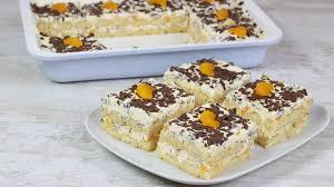 stracciatella schnitten mit mandarinen ohne backen cook bakery