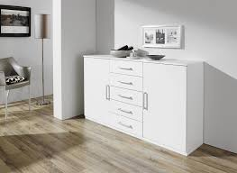 commode chambre adulte design commode design 2 portes 5 tiroirs blanche rudie commode et